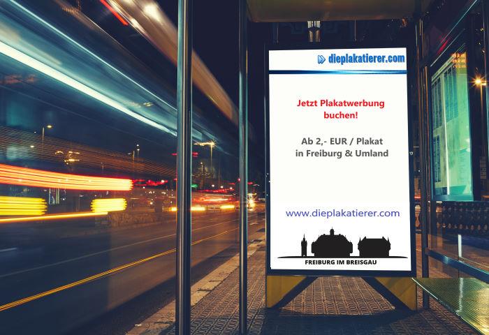 Plakatierung Freiburg